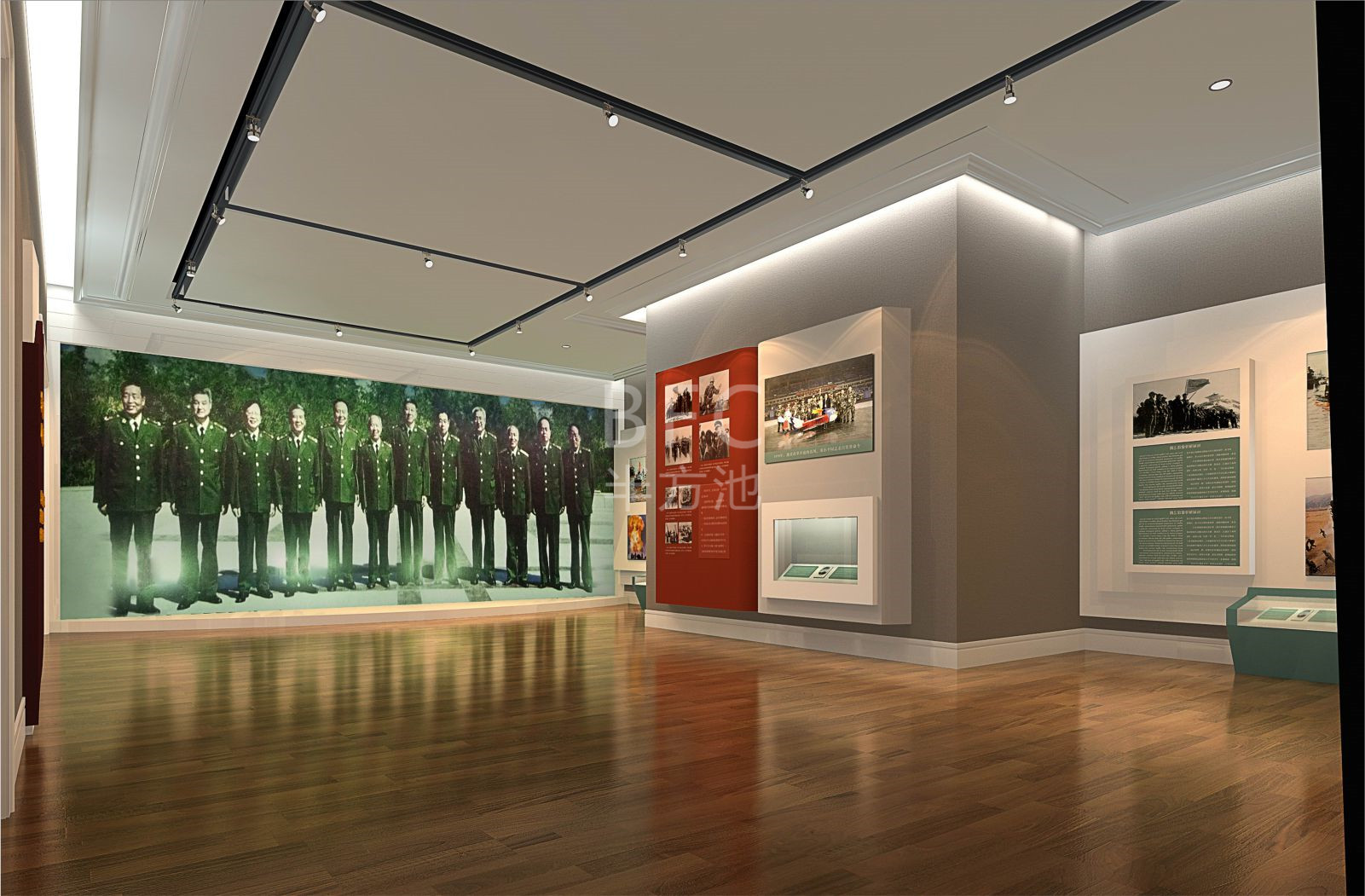 党建党群服务中心展厅的设计应凸显的特点
