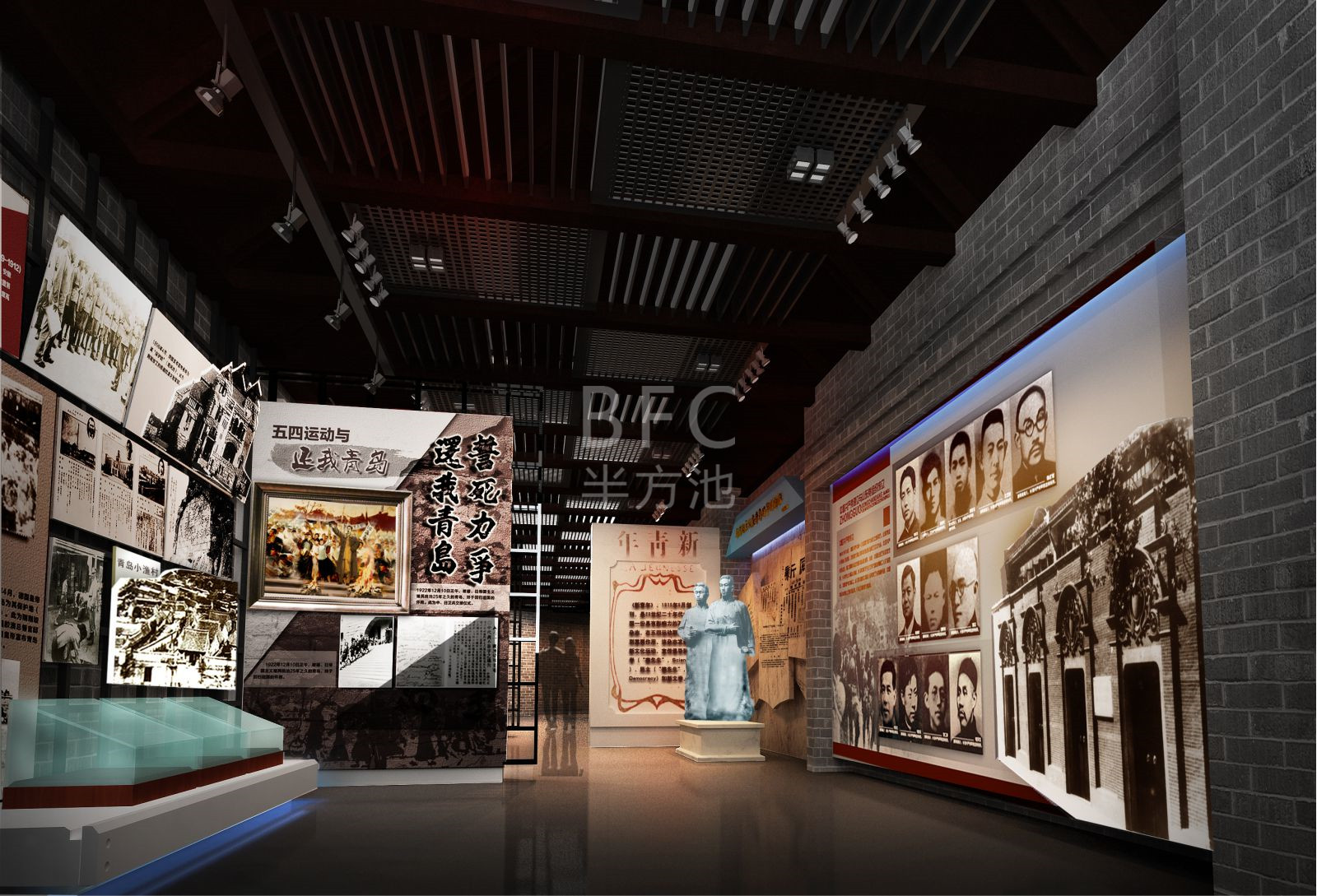 清风廉政文化教育馆展厅设计的内容规划及设计理念