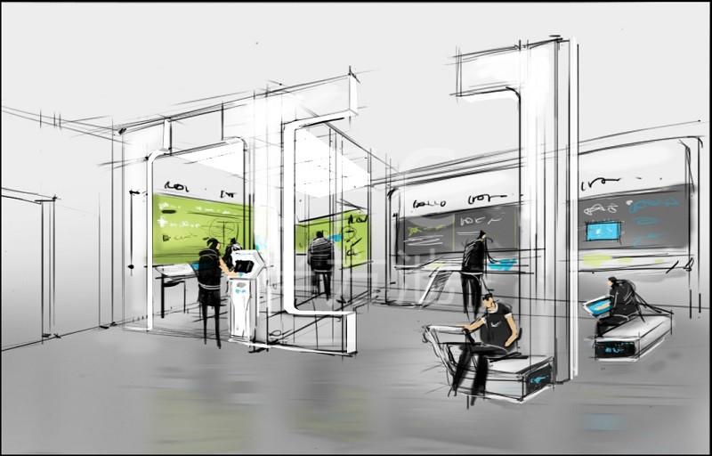 展厅设计艺术,抓住观众欣赏心态,体现价值